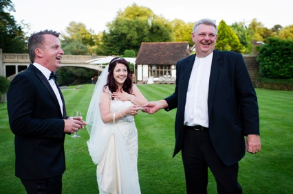 Wedding magic at Le Talbooth